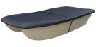 Boat cover for punt BIC 245